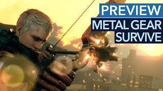 Wird Metal Gear Survive ein tolles Survival-Spiel? - Gameplay-Preview
