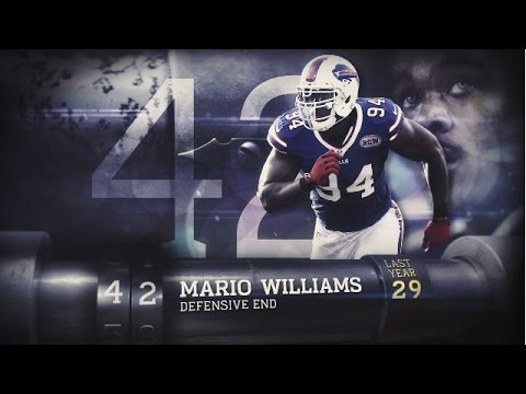 #42 Mario Williams (DE, Bills) | Top 100 Players of 2015