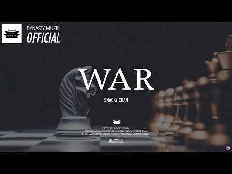 "'WAR' – Eminem, Royce da 5'9"" Type Beat 2018 (Prod. by Snacky Chan"