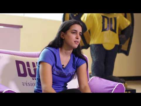 PSA road to Dubai players lounge - Nour El Tayeb