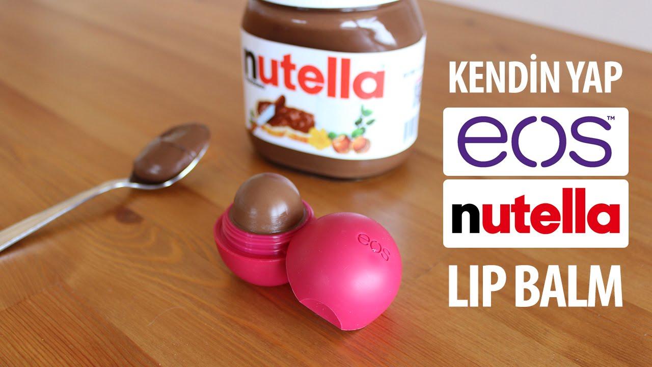 Çikolatalı dudak kremi yapımı
