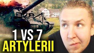 POGROMCA ARTYLERII - 1 VS 7 - World of Tanks