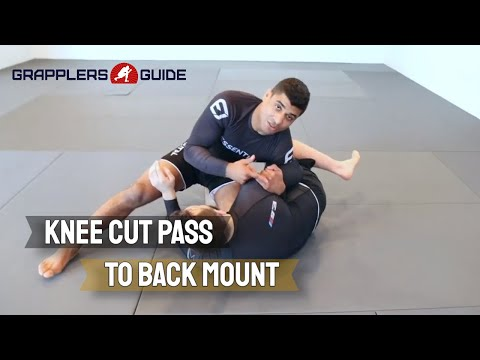 JT Torres - Knee Cut From Headquarters To Step Around Back Take