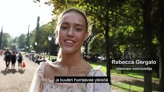 Voimistelu-lehti 3/2019 - Rebecca Gergalo: Sisulla kohti maailman kärkeä