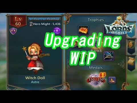 王國紀元 Lords Mobile -  Gold Witch Doll + Colosseum Advice
