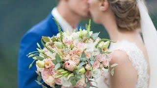 Красивая свадьба Юлии и Георгия в горах Адыгеи.  Майкоп.