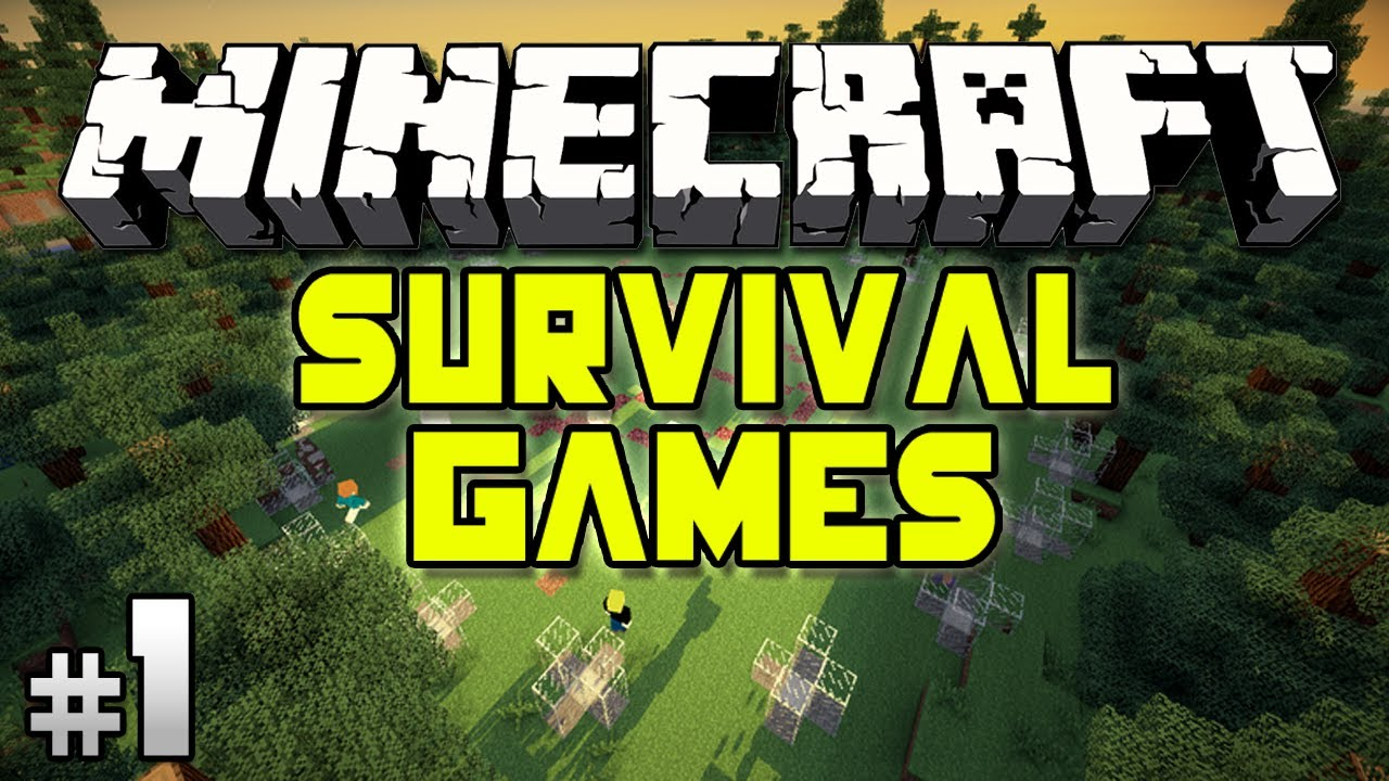 Minecraft Survival Games Ep1 Youtube