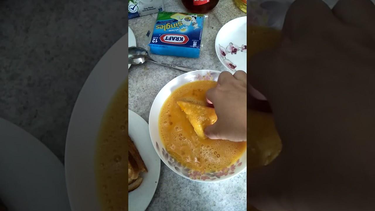 Cara Membuat Roti Cheese #menubyderlince - YouTube