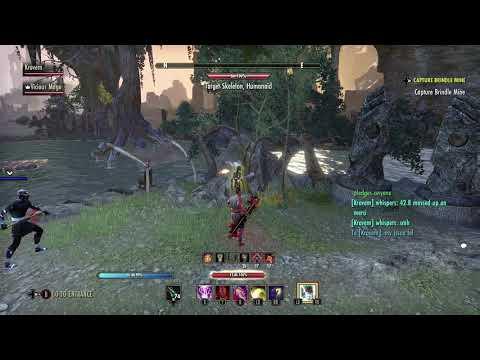 Magicka Nightblade (Merciless Syphoner) – ESO: The Guardians