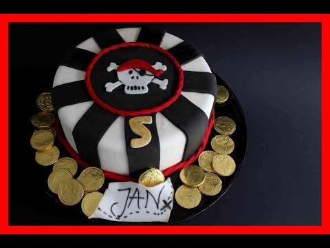 Piraten Torte Kindergeburtstag Motivtorte Thema Pirat