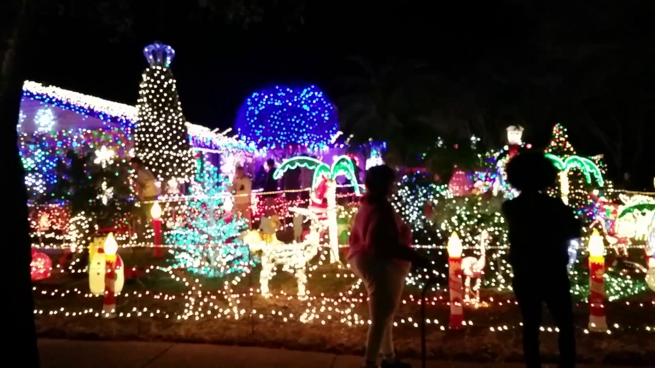 Christmas Lights Orlando Area Part 1 You