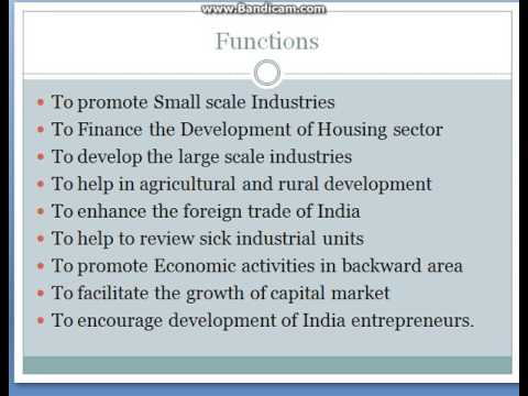 Role Of Development Banks