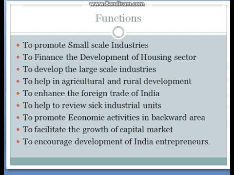 Role Of Development Banks