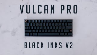 Vulcan Pro    Black Gateron Ink Linear Switches    ASMR Sound Test