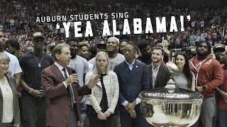 Watch Auburn students sing