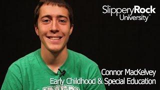 SRU Success Stories - Connor MacKelvey, Transfer