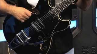 Schecter Corsair Guitar with Bigsby - FOX 17 Rock & Review