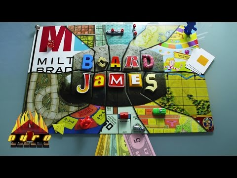 BOARD JAMES LOGO BROUGHT TO LIFE FOR BOARD JAMES SERIES