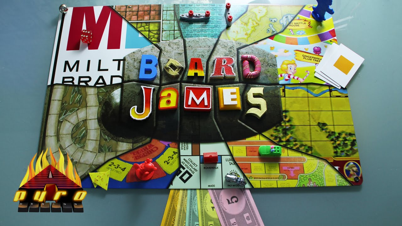 Board James Logo Brought To Life For Board James Series Youtube