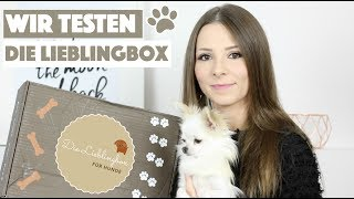 WIR TESTEN: DIE LIEBLINGBOX SOMMER EDITION 🐚🐠 | Unboxing + Live Test mit Chihuahua Tinkerbell 🐶