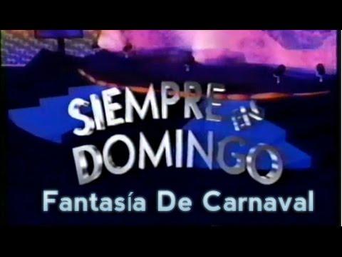 Ballet Folklórico Quetzalli y Combo Ninguno en Siempre En Domingo 1993