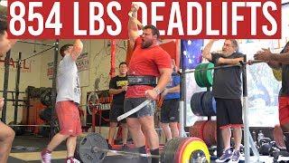 Even HEAVIER Deadlifts!!! 🤯 - 3 Weeks To World's Strongest Man