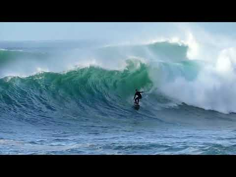 Big waves in Basque Country