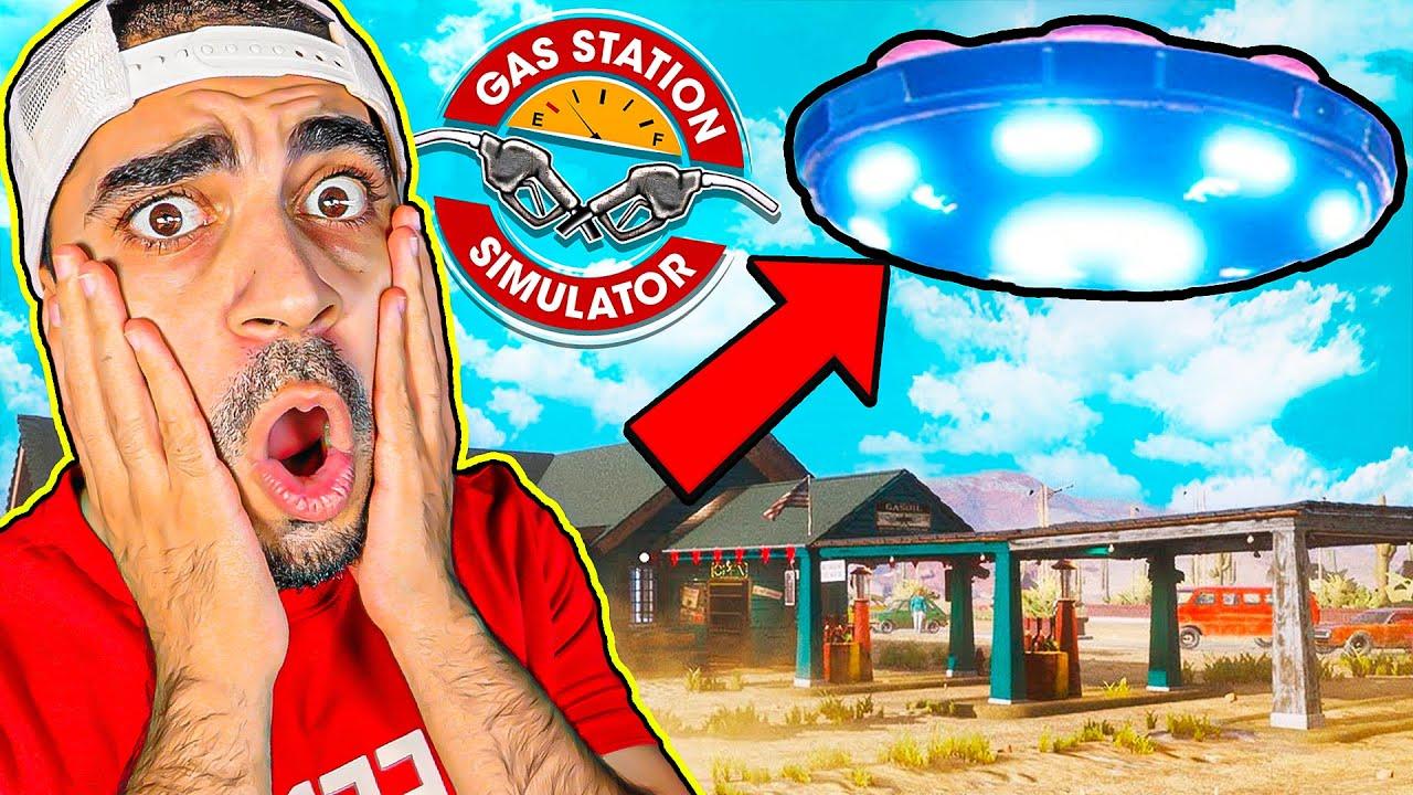 محاكي محطة البنزين #14 : مركبة فضائية زارتنا 😨⛽🔥 - Gas Station Simulator