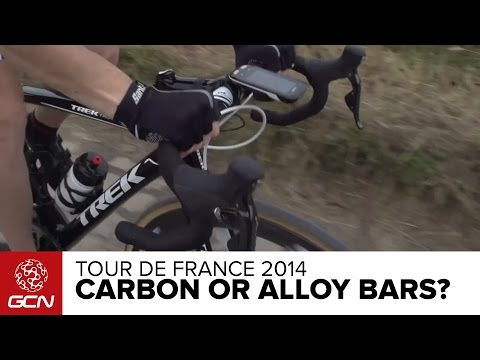 Carbon Fiber Or Aluminium Handlebars? | Tour De France 2014