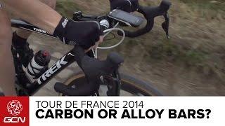 Carbon Fiber Or Aluminium Handlebars? | Tour De France 2014
