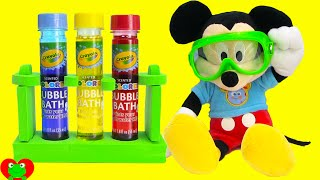 Mickey Mouse Clubhouse Fun and Crayola Color Lab