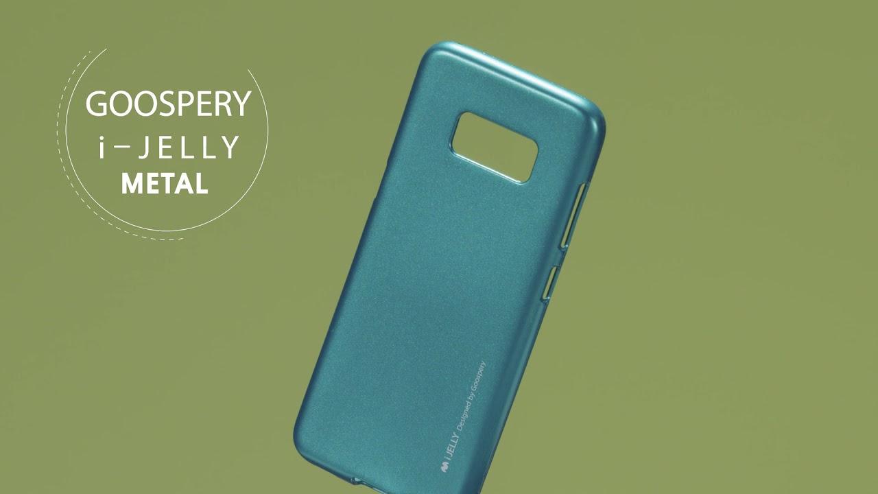 Goospery I Jelly Metal Case Youtube Samsung Galaxy S8 Plus Canvas Diary Gray