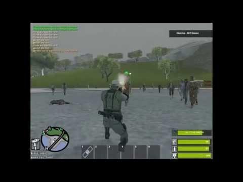 MTA San Andreas Zombie RPG Server