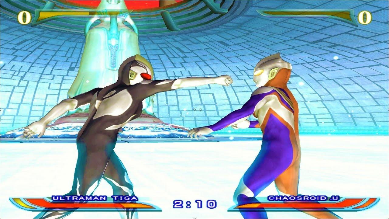 Sieu Nhan Game Play | Ultraman Tiga đánh nhau với quái vật | Game Ultraman Fer
