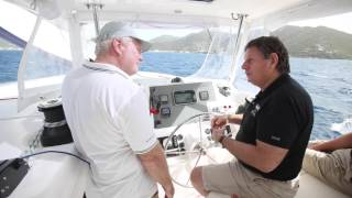 Catamaran sailing techniques Part 6 – Tips for sailing in storms and heavy weather