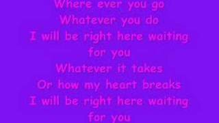 White Dawg-Right here waiting w/lyrics