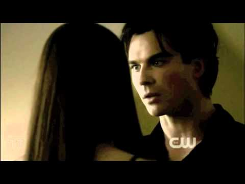 damon and elena first hook up