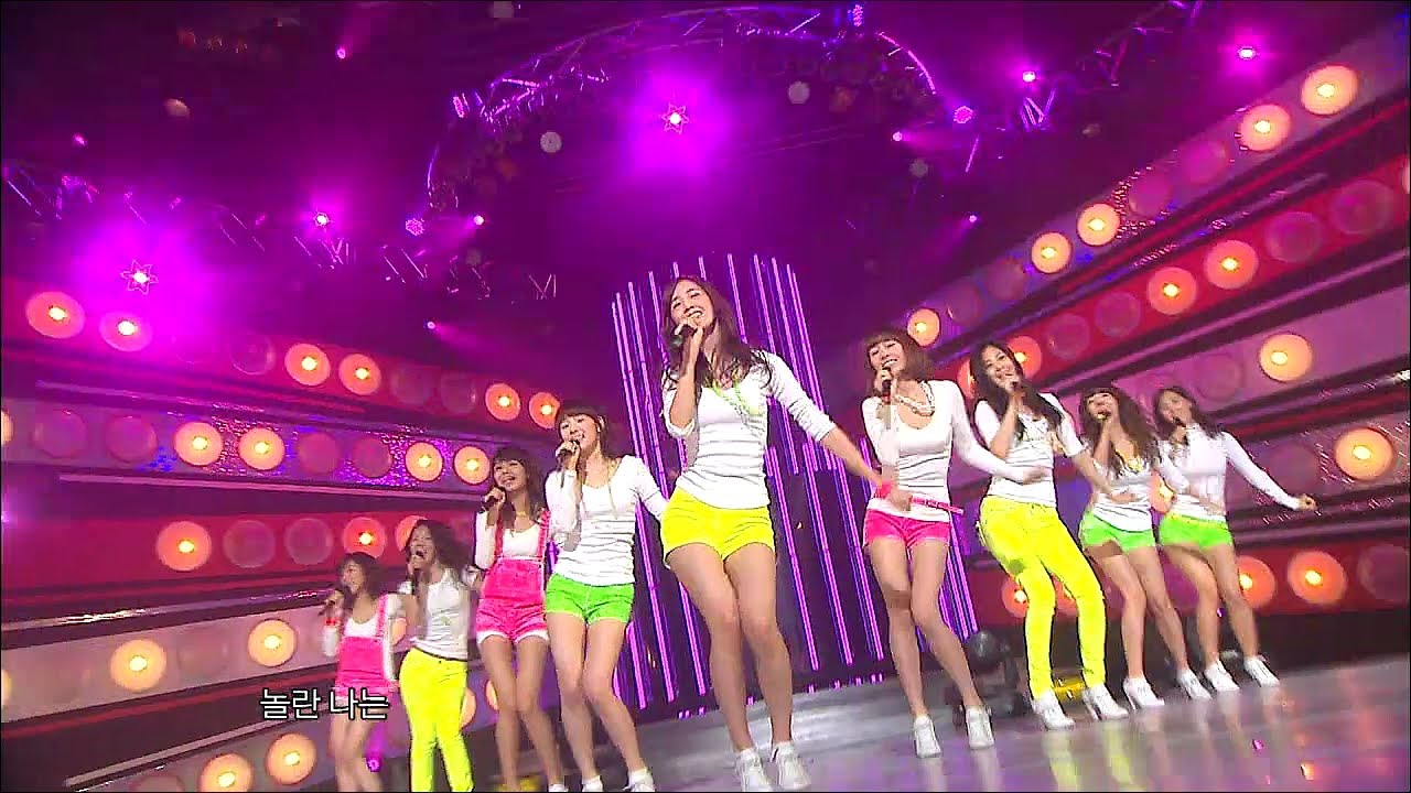 Tvpp Snsd Gee 소녀시대 지 Show Music Core Live Youtube