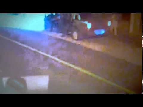 Video: así fue el tiroteo de la Policía con los prófugos por el triple crimen