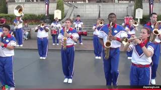 Let It Go - 2014 Disneyland All-American College Band - First Day