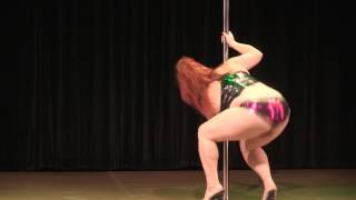 2017 US Pole Dance Championship Novice Sexy - Ginger Gilbert