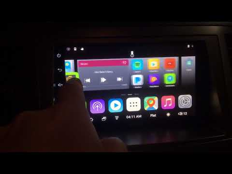 ATOTO Car Radio : customize home screen icons