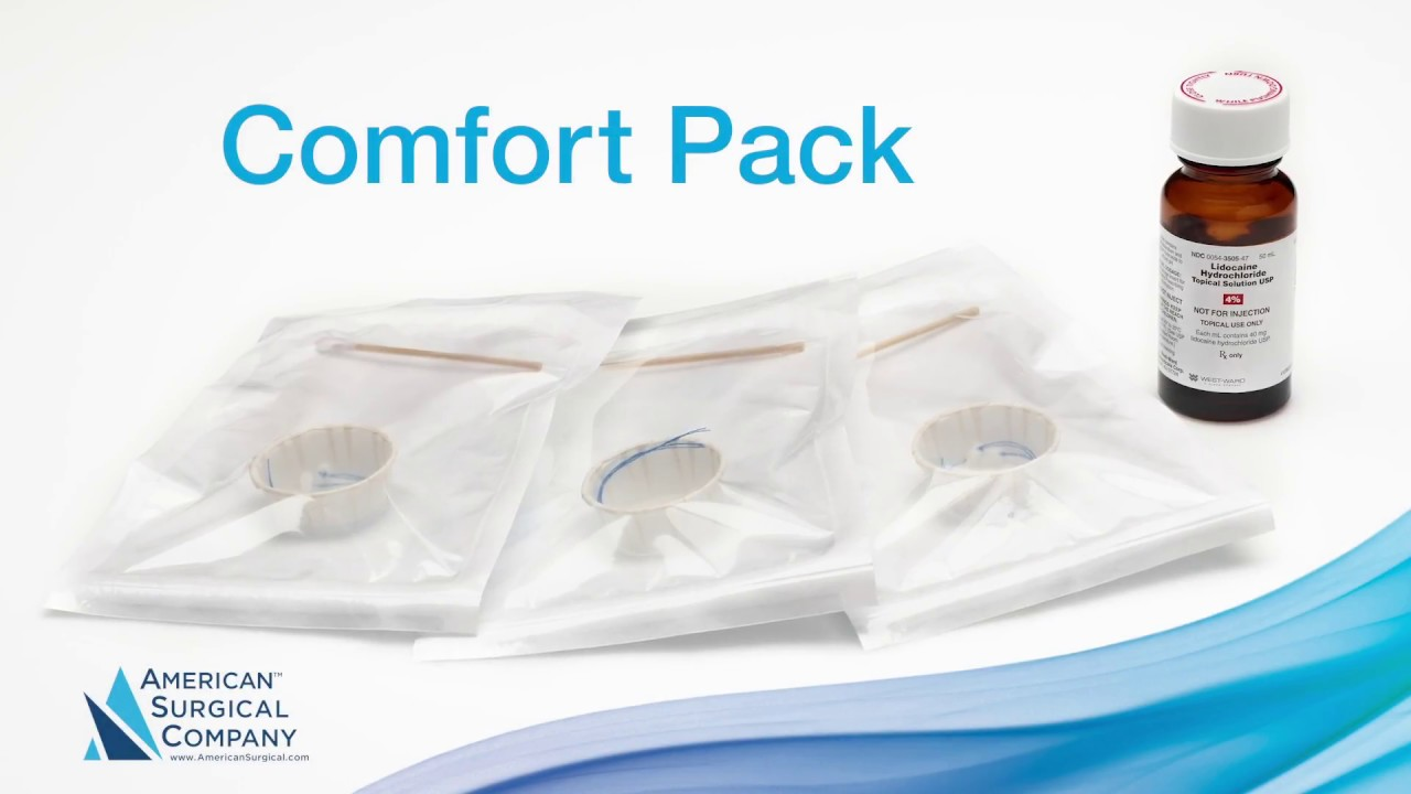 Ophthalmic Comfort Pack