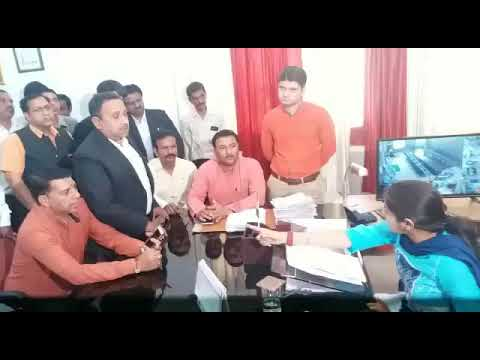 JM Nitika Khandelwal take action against illagal construction at Tehsil roorkee