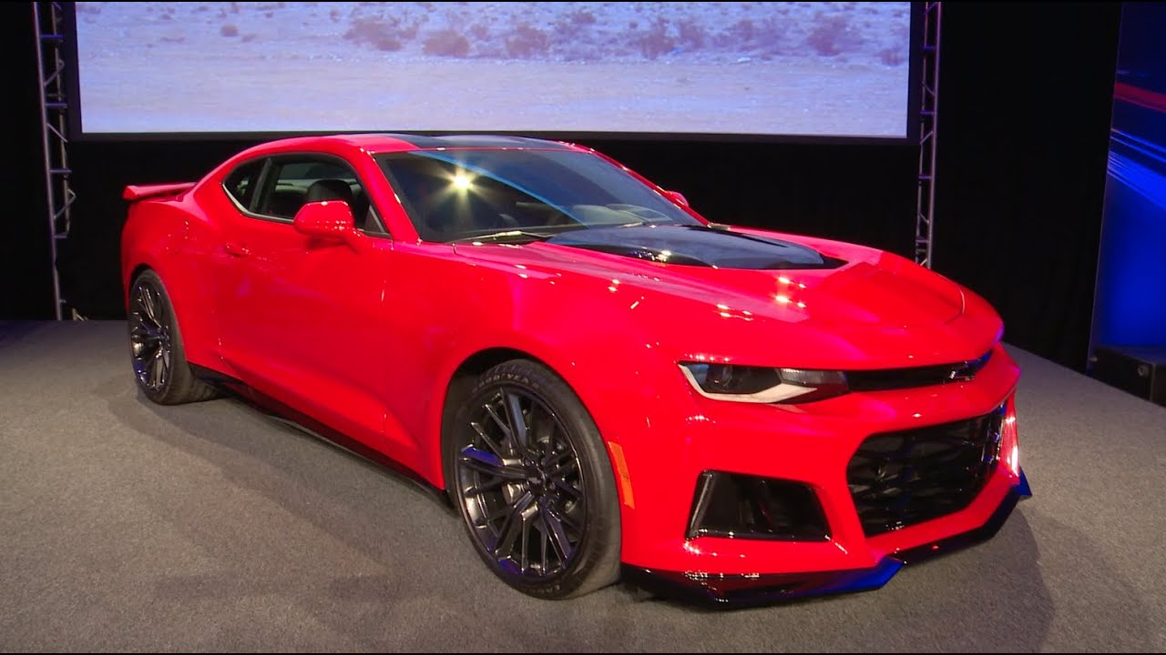 Chevrolet Camaro Zl1 2016 Youtube