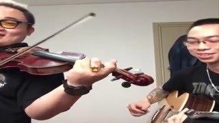 This Love (Maroon 5)-Tùng Acoustic Ft FAt B (Trường Lê) Acoustic Cover Cực Hay!!!