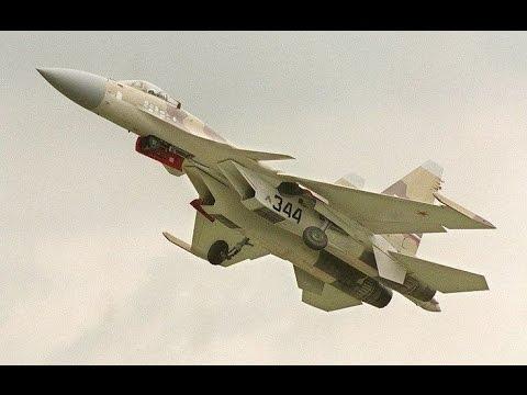 Sukhoi Su-37 at Paris Air Show 1997