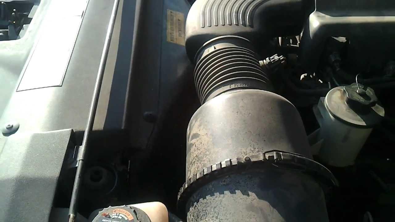 1997 Ford F150 Small Radiator Leak Youtube Howtobuildhotrodscom