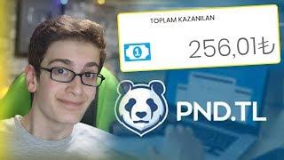 3 KAT FAZLA KAZAN! Link Kısalt Para Kazan - PND.TL