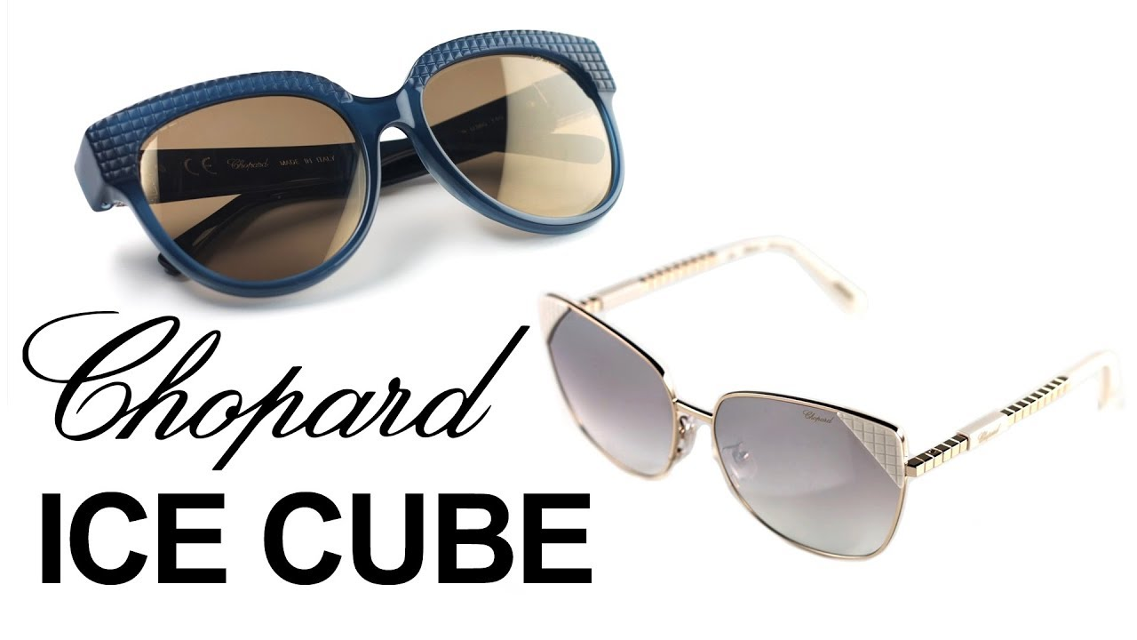 2248a19534 Chopard ICE CUBE Embellished Eyewear | How it's Made - with Selectspecs.com